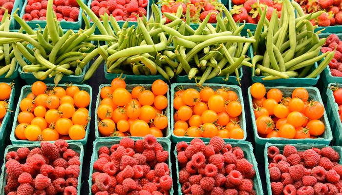 Alimenti sani e locali