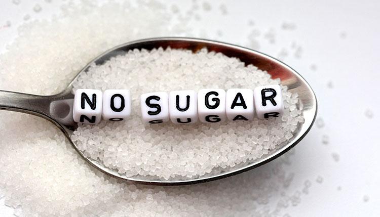 Elimina gli zuccheri