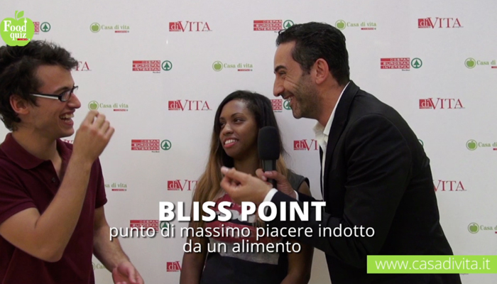 Food Quiz, si parla di bliss point